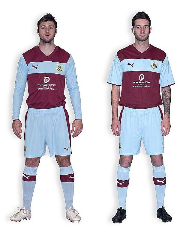 Burnley launch 2012/13 home kit - Clarets Mad