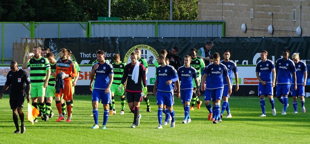Match photos from forest green cardiff city online for Prem league table 99 00
