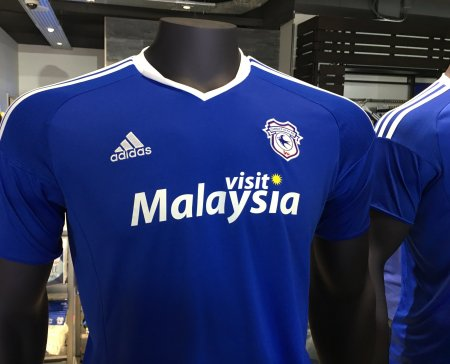 City reveal 2016 17 home kit cardiff city online for Prem league table 99 00