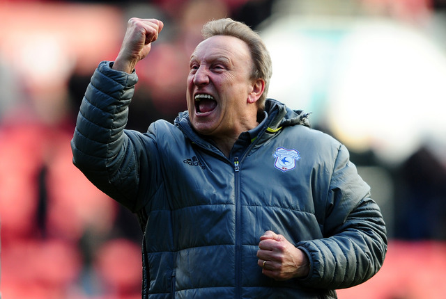 Warnock in great spirits after Cardiff's win at Ashton Gate
