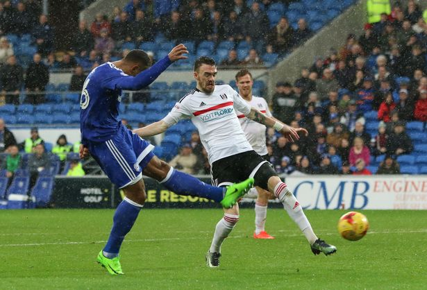Cardiff City 2 - 2 Fulham. Match Report