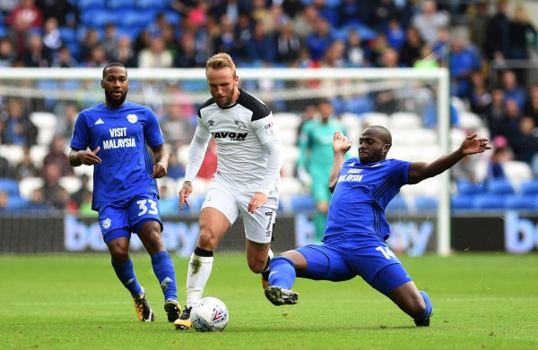 Cardiff City 0 - 0 Derby County. Match Report