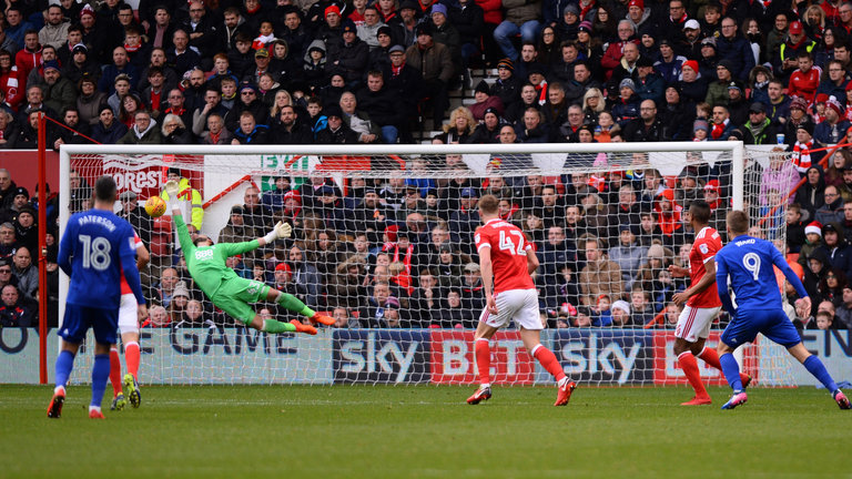 Nottingham Forest 0 - 2 Cardiff City. Match Report