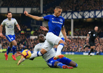 Everton 1 - 0 Cardiff City. Match Report