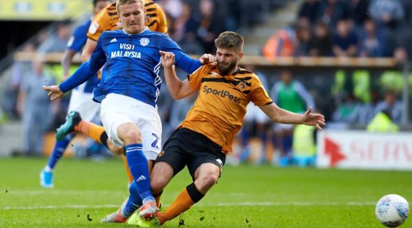 Hull City 2 - 2 Cardiff City. Another point on the road