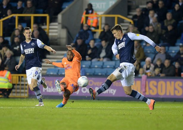 Millwall 2 - 2 Cardiff City. Bluebirds twice give up the lead