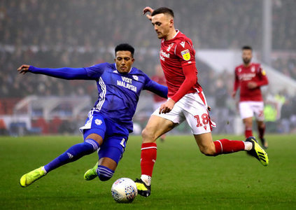 Nott'm Forest 0 - 1 Cardiff City. A win on the road