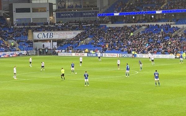 Cardiff City 1 - 1 Millwall. Bah Humburg 2