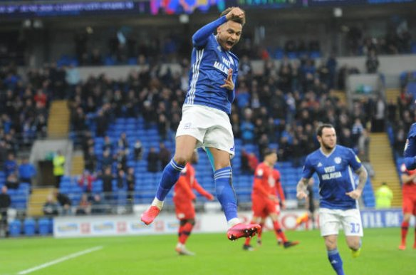 Cardiff 2 - 2 Wigan. Match Report