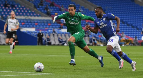 Cardiff City 2 - 1 Derby County. Match Report