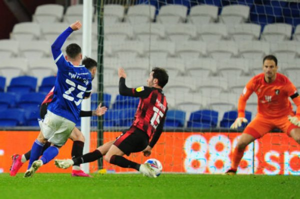 Cardiff 1 - 1 Bournemouth. A first home point for City