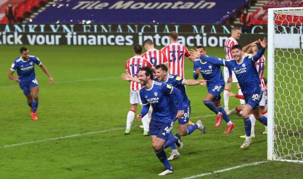 Stoke City 1 - 2 Cardiff City. Match Report