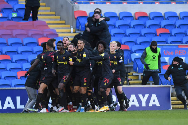 Cardiff City 1 - 2 Watford. Match Report