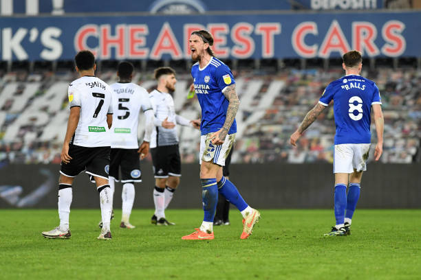 Swansea City 0 - 1 Cardiff City. Match Report
