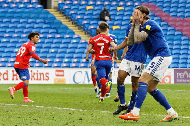 Cardiff City 2 - 2 Blackburn Rovers. Match Report
