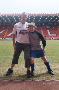 Neil Nixon and Son