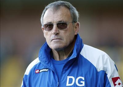 Crewe intrim boss Dario Gradi.