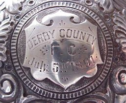 Derby County Teapot inscription