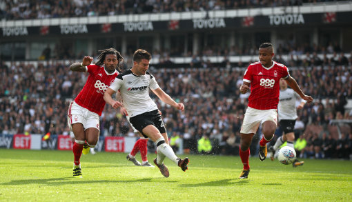 Derby County 2 Nottingham Forest 0