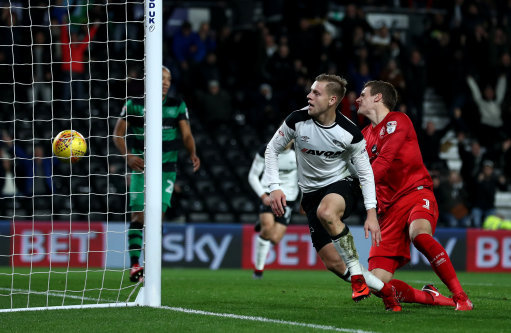 Derby County 2 Queens Park Rangers 0