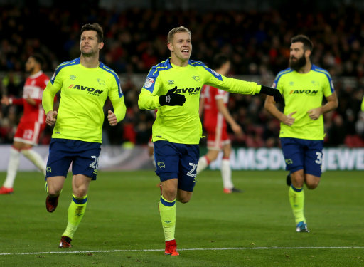 Middlesbrough 0 Rams 3