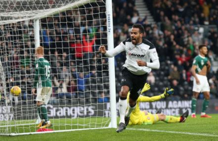 Derby County 3 Brentford 0
