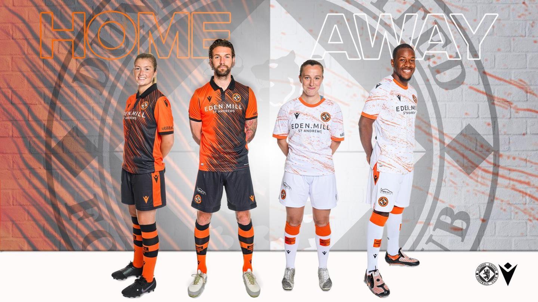 New Dundee United kits unveiled