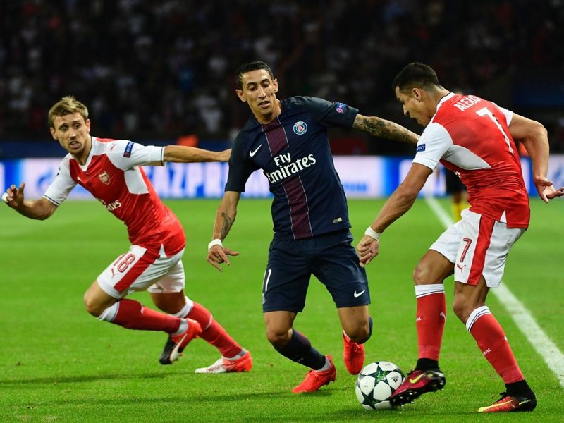 Arsenal boss Wenger happy with PSG point but sees red over card
