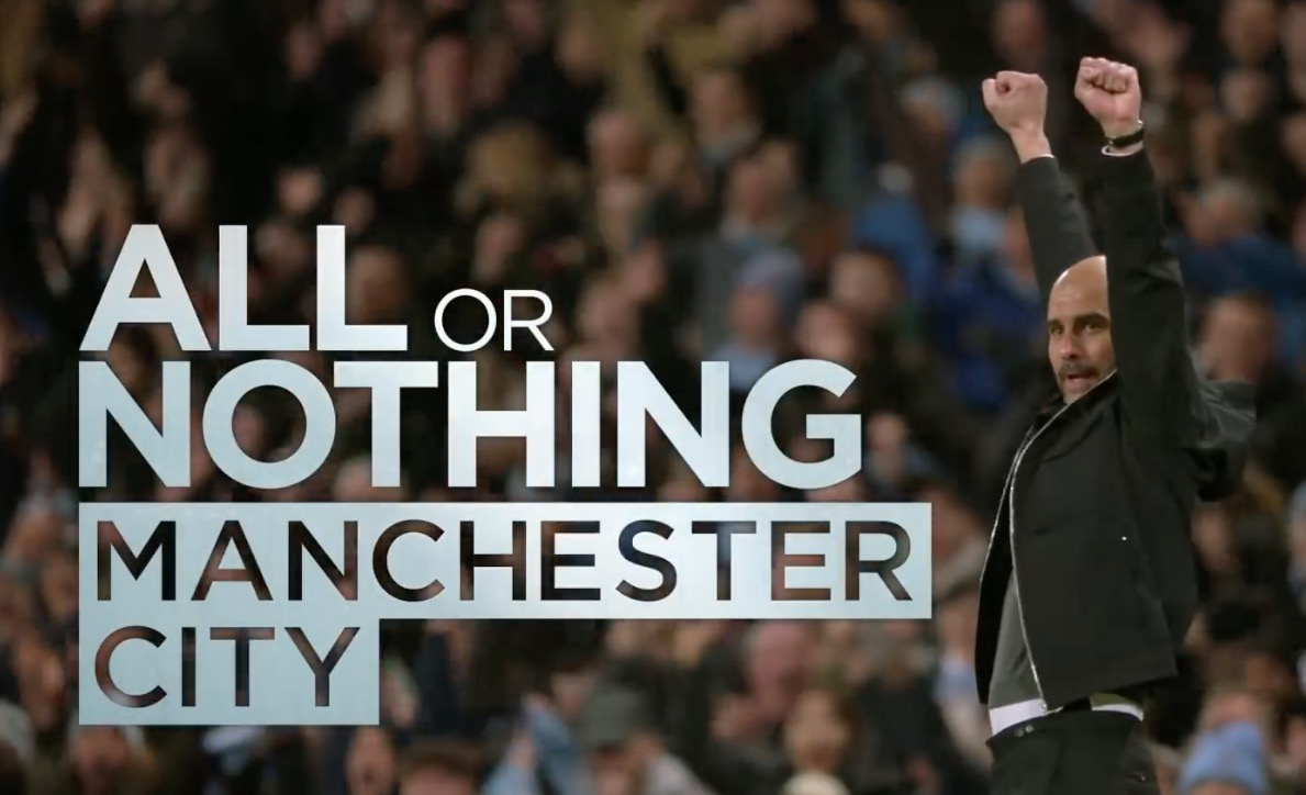 Watch Man City's new fly-on-the-wall documentary