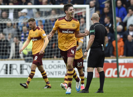 Motherwell fall short of a point
