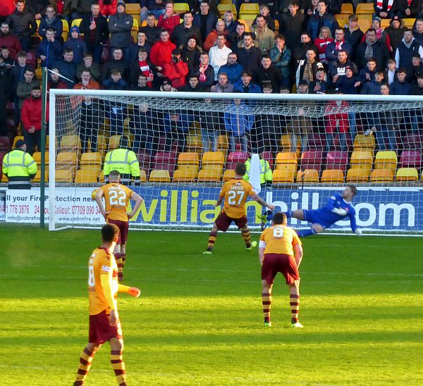 Motherwell knock Hamilton out the Cup