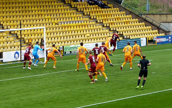 Johnson takes Motherwell to the quarters