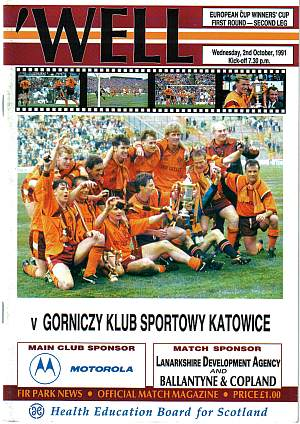 On this day - Katowice at Fir Park
