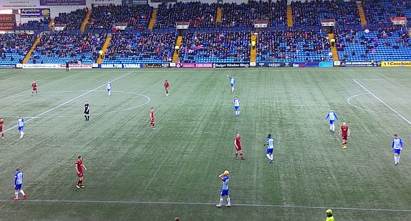 No Goals at Rugby Park