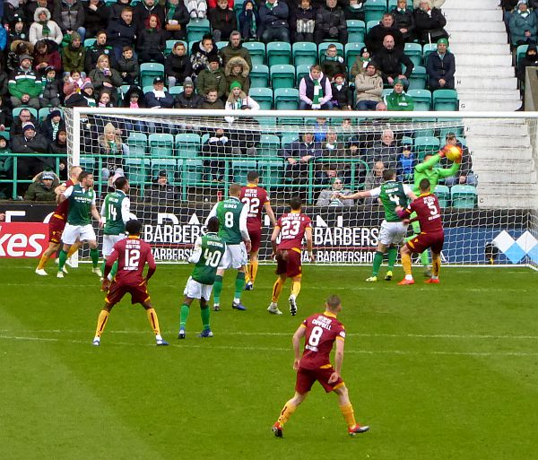Motherwell well beaten at Easter Road