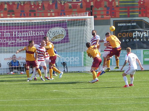 Motherwell sweep aside Hamilton for a first league win