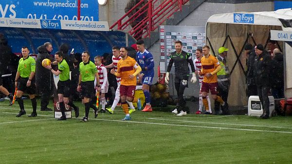 A point in Hamilton returns Motherwell to third