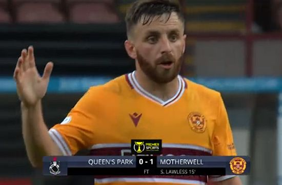 Motherwell struggle but make winning start in the Premier Sports Cup