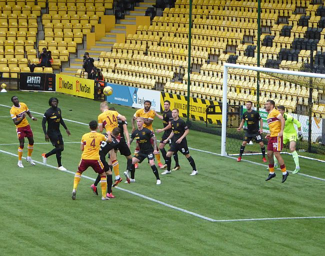 Motherwell beat Livingston to take a first league win
