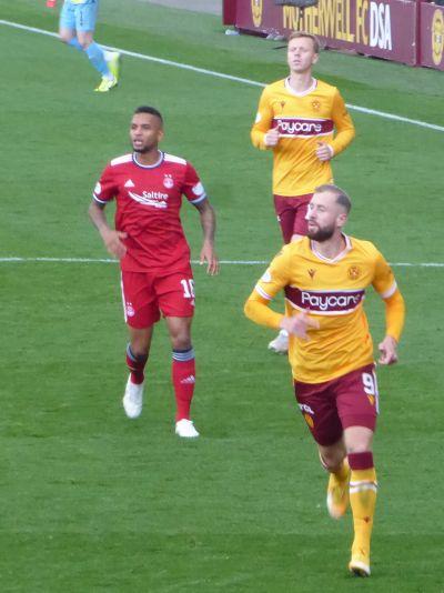 A brilliant day at Fir Park: Motherwell 2 Aberdeen 0