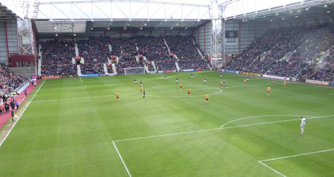 Next up - Motherwell at Tynecastle