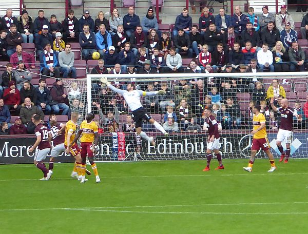 Poor Motherwell lose at Tynecastle