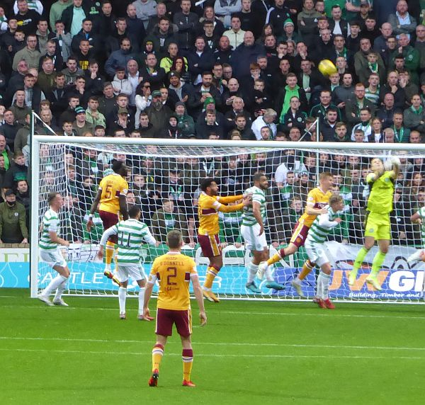 No joy for Motherwell as Celtic win