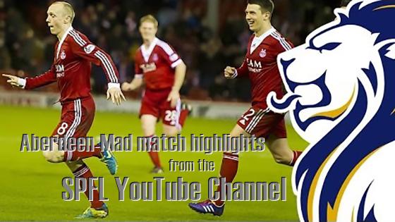 Aberdeen on SPFL YouTube