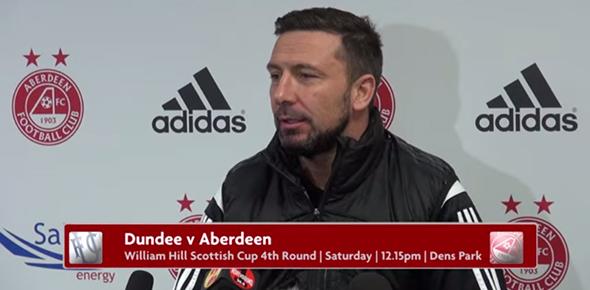 Derek talks about Dundee v Aberdeen