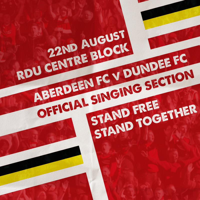 Aberdeen Singing Section - important news