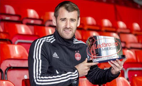 Niall McGinn September Player of the Month